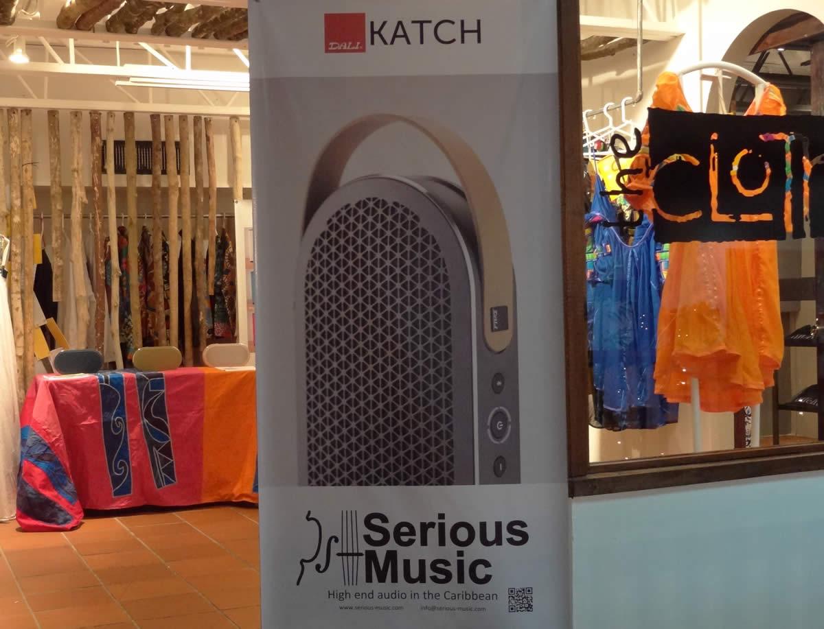 DALI Katch on demo at the Cloth